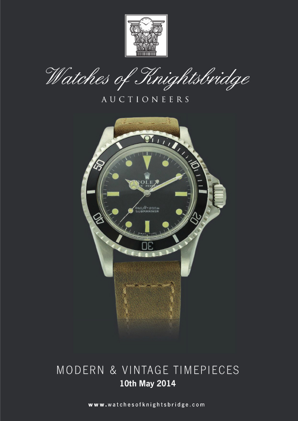 MAY 2014 AUCTION CATALOGUE