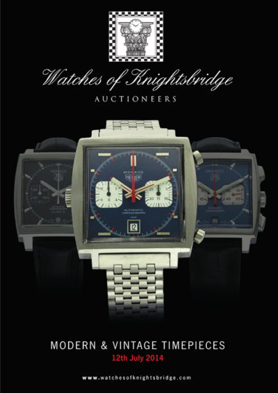 Watches of Knightsbridge 12th July 2014