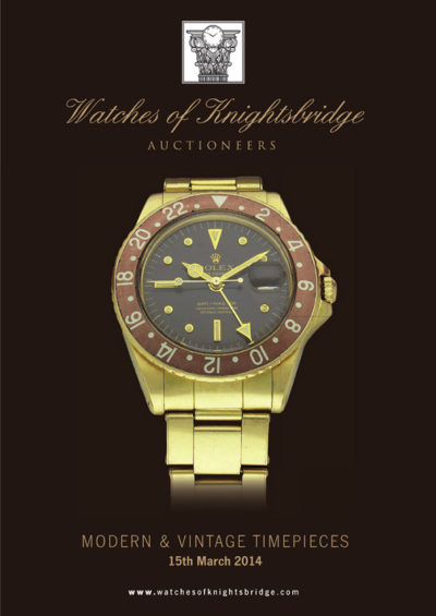 Watches of Knightsbridge - Vintage & Modern Timepieces 15th Marc