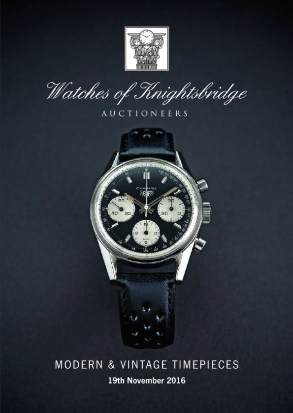Watches of Knightsbridge 19 November Catalogue