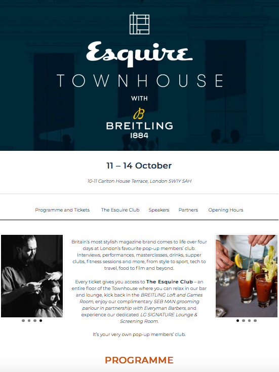 ESQUIRE TOWNHOUSE