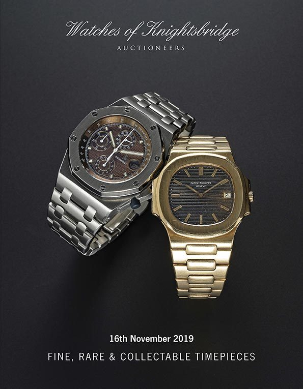 NOVEMBER 2019 AUCTION CATALOGUE