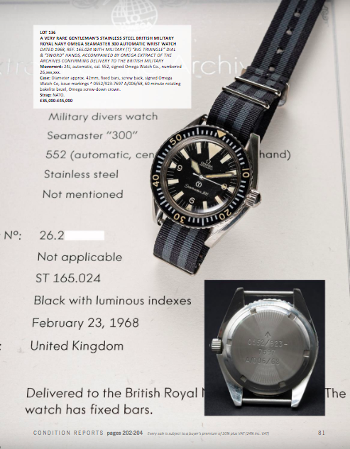 NOVEMBER 2018 AUCTION CATALOGUE Watches of Knightsbridge