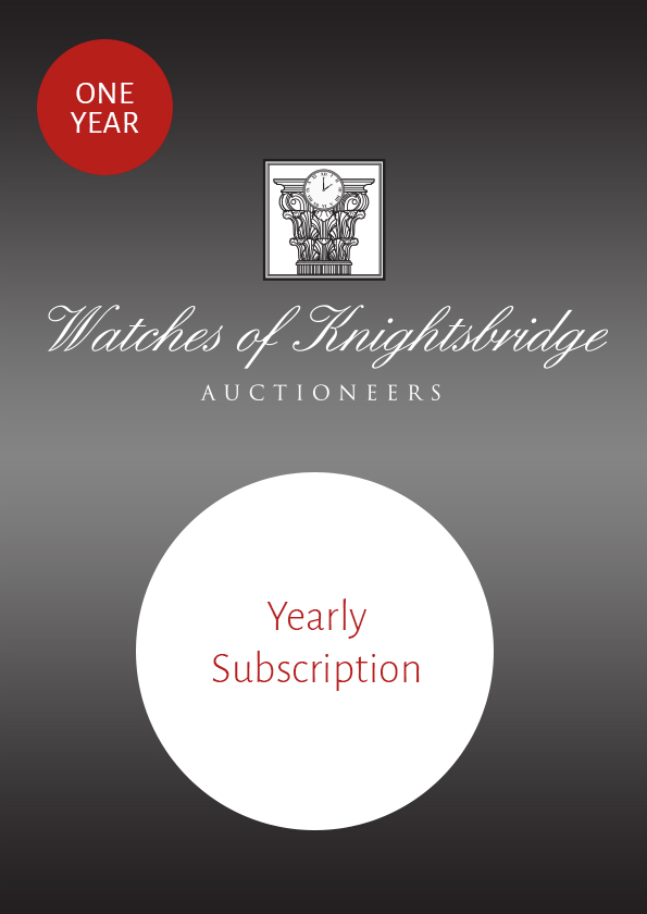 YEARLY AUCTION CATALOGUE SUBSCRIPTION