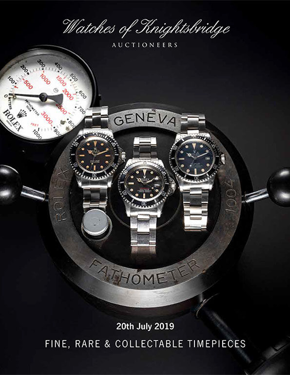 JULY 2019 AUCTION CATALOGUE